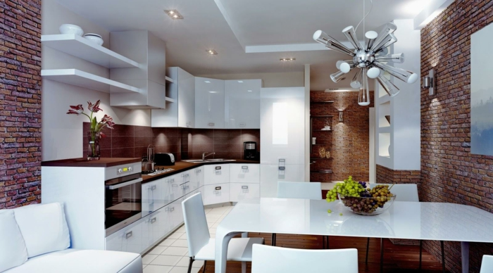 küchengestaltung qi energie richtige kücheneinrichtung weiße küchenmöbel
