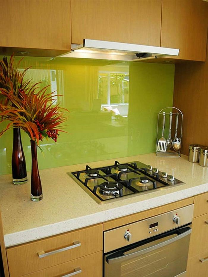 Küchenrückwand Aus Glas U2013 Die Moderne Option ...