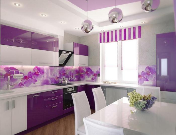 küchenrückwand glas ? die moderne option - Küchenrückwand Glas Beleuchtet