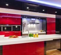 küchenrückwand glas – die moderne option