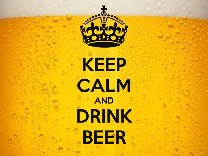keep calm and drink beer drei leckere Rezepte mit Bier