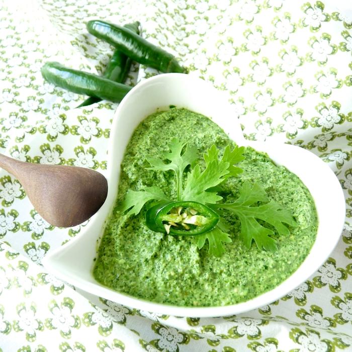 koriander pflanzen pesto gesundes essen