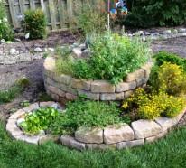 Kräuterspirale bauen- unsere  Anleitung Schritt für Schritt