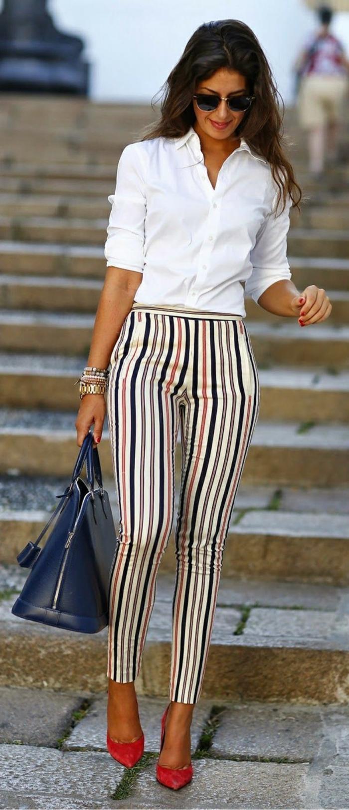 Moderne Lange Damenhosen 2016 Schritt Mit Den Tendenzen Halten