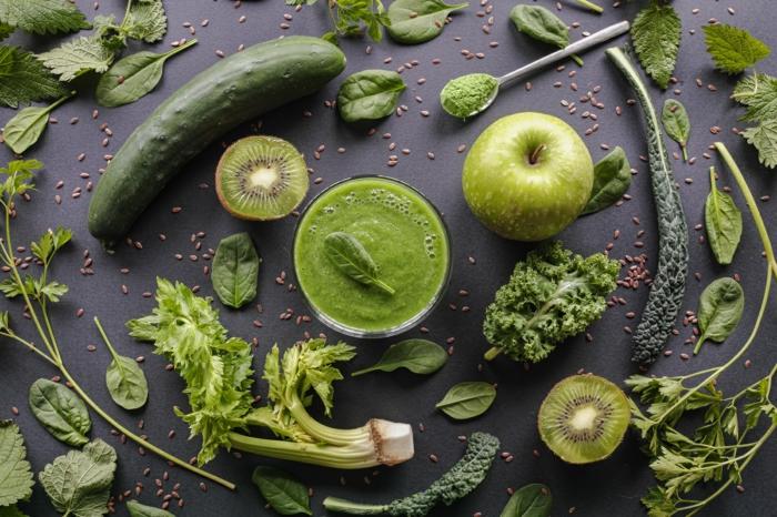 lebe gesund gesundes leben grüne blätter schön