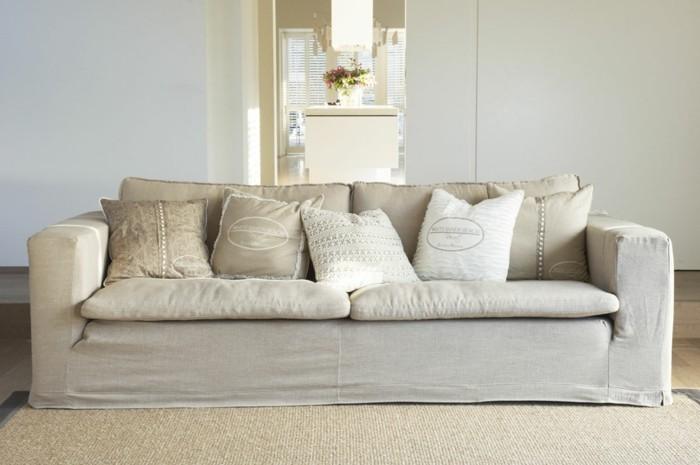 möbel trend 2020 sand farbe sofa shabby chic