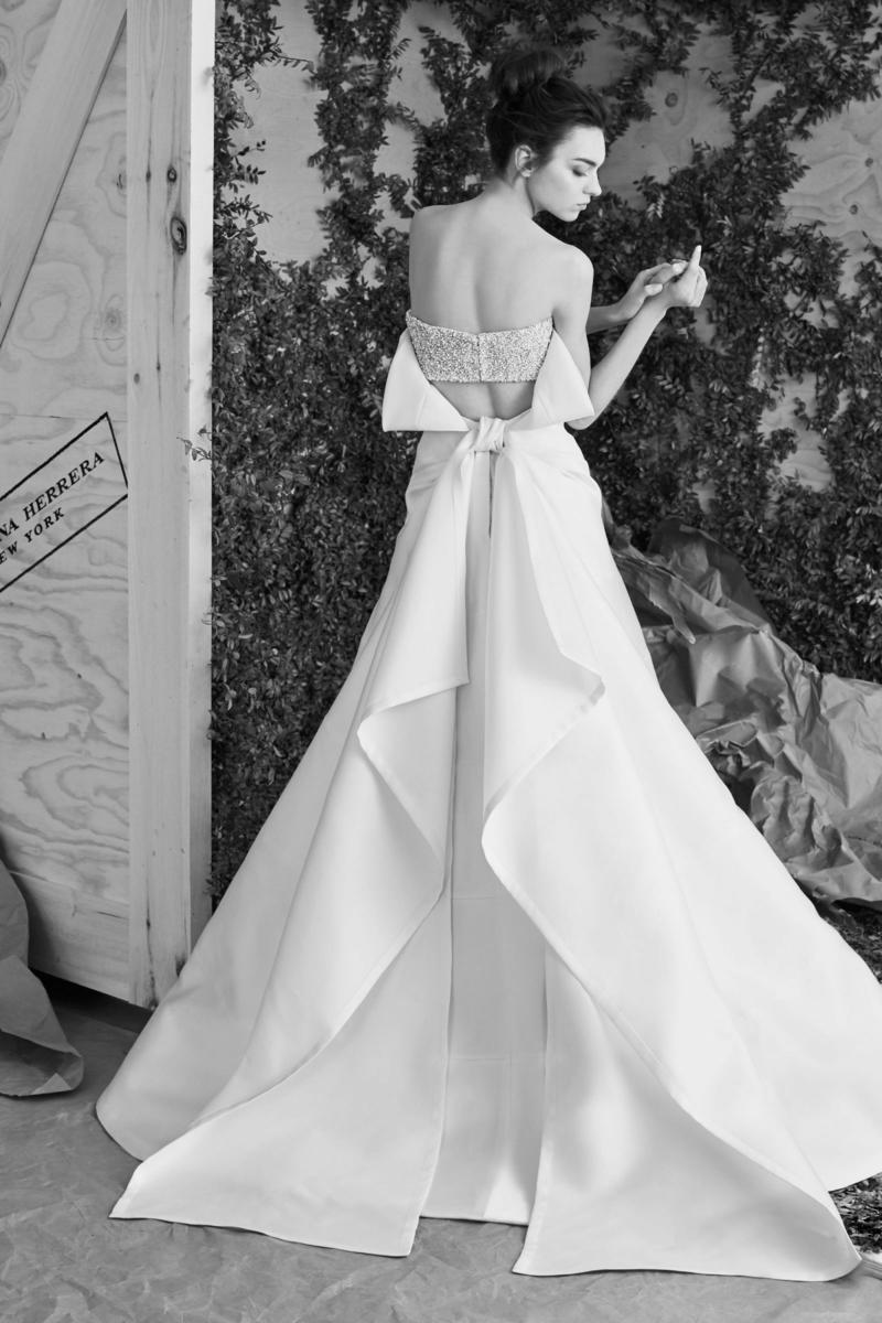 moderne Brautkleider Carolina Herrera Brautmode