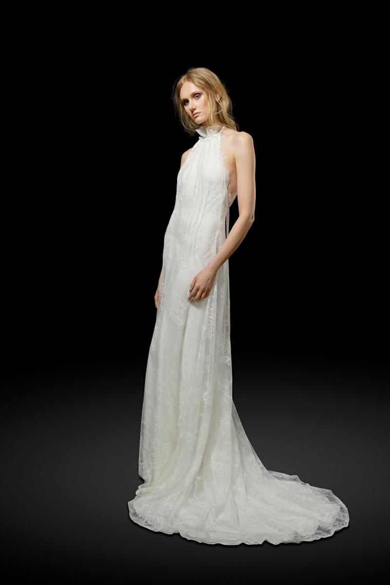 moderne Brautkleider Elizabeth Fillmore Hochzeitskleid mit Schleppe