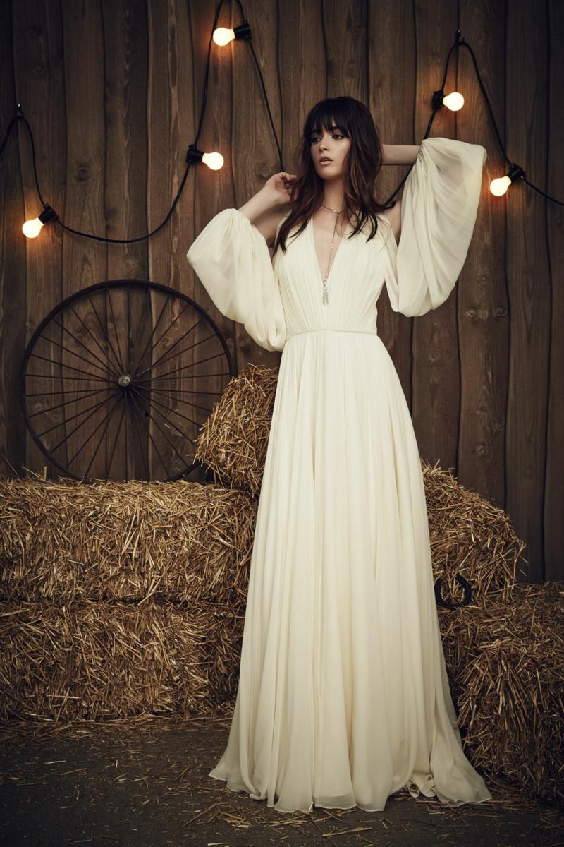moderne Hochzeitskleider Jenny Packham Brautmode Vintage Hochzeitskleid