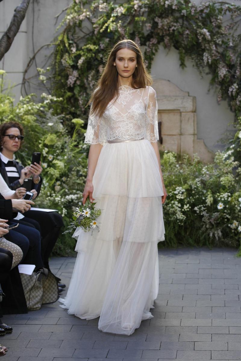 moderne Hochzeitskleider Monique Lhuillier Brautmode