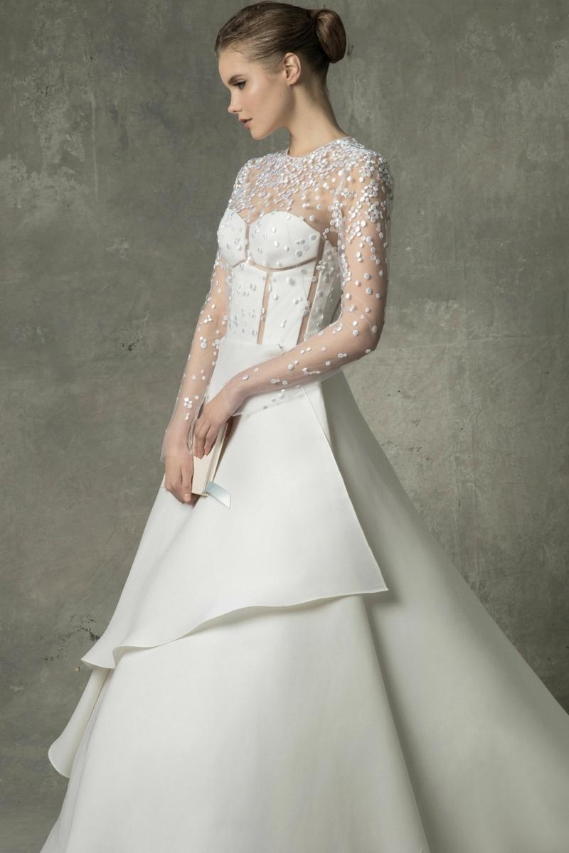 moderne Hochzeitskleider Angel Sanchez Brautmode
