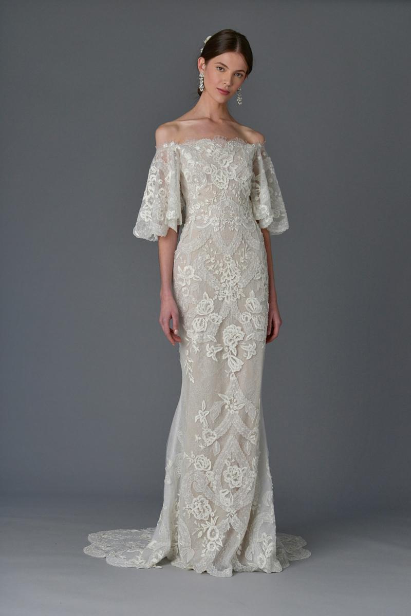 moderne Hochzeitskleider Marchesa Brautmode 2017
