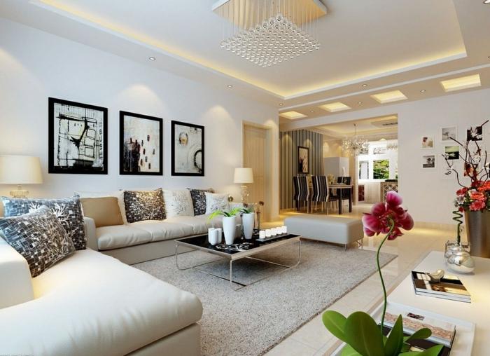 Wohnzimmer Beispiele Einrichtung ~ Home Design Inspiration