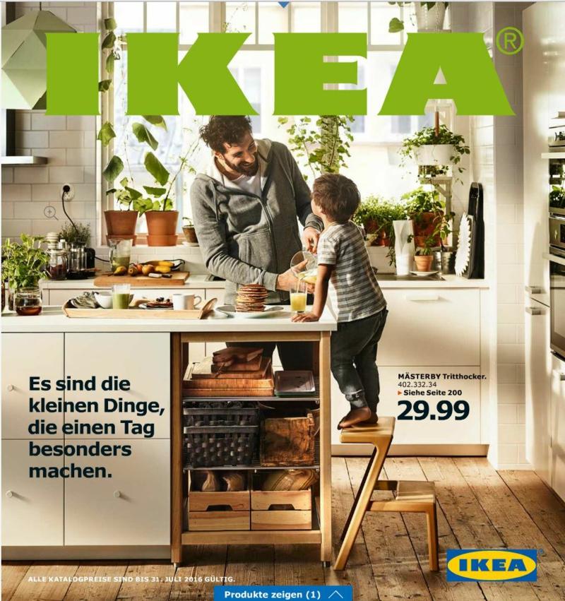 Entdecken Sie den neuen Ikea Katalog 2016 auch online!