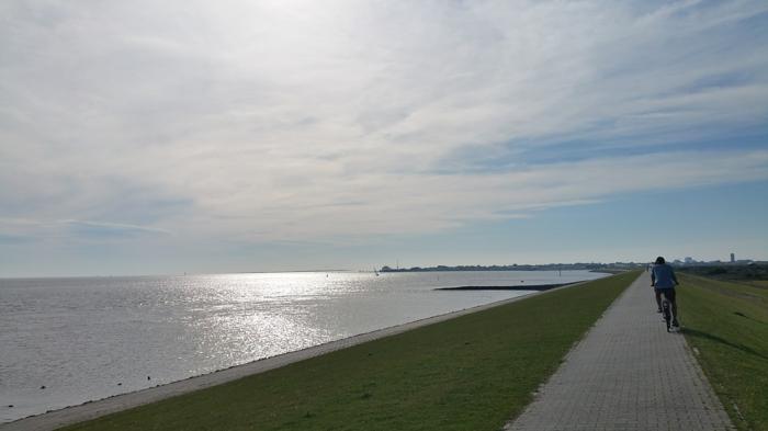 norderney nordesee ostfriesische insel weiße düne fahrrad fahren