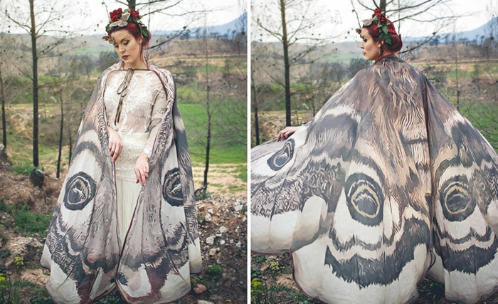 schmetterlinge-umhang-handmade-textilfarben-kunst