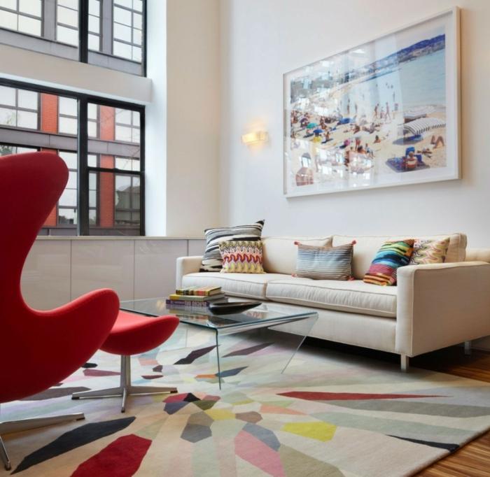 Gallery Of Wohnzimmer Einrichten Rot
