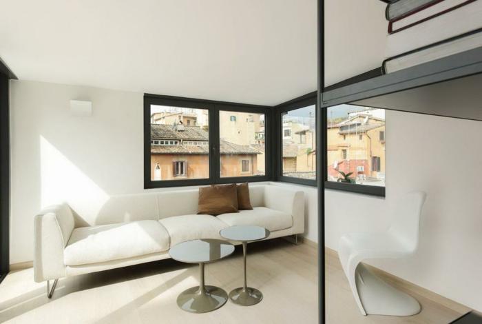 sessel weiß modernistisch weißes sofa
