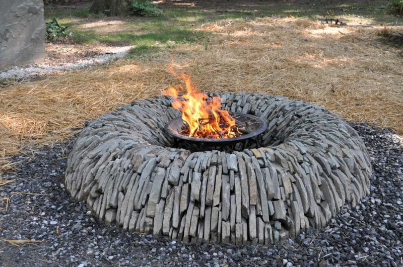 wie können sie eine feuerstelle bauen? - 60 fotobeispiele, Garten und Bauten