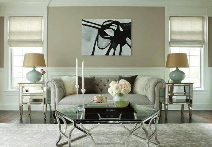 Chesterfield wohnzimmer  Chesterfield Sofa - Ein Stück Klasse ins Innendesign bringen