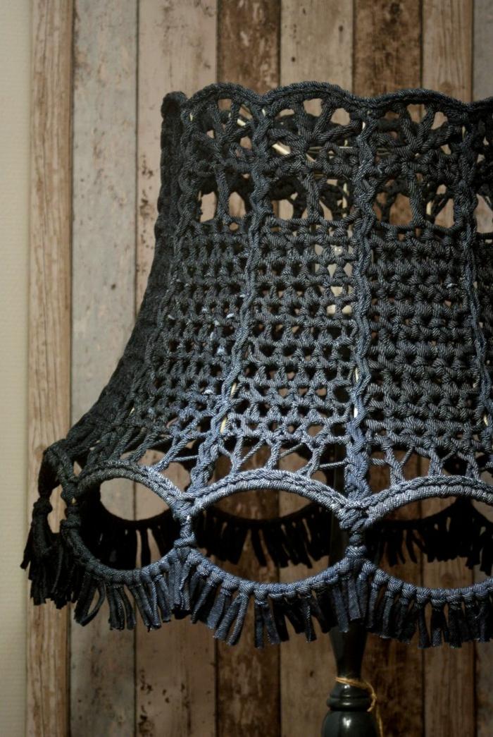 stricken anleitung lampenschirr sessel wärmehalter strickmöbel strickkunst charaktervoll