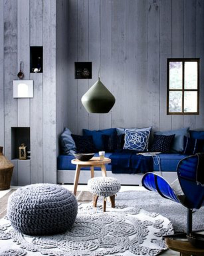 stricken anleitung lampenschirm sessel wärmehalter strickmöbel strickkuns grau2