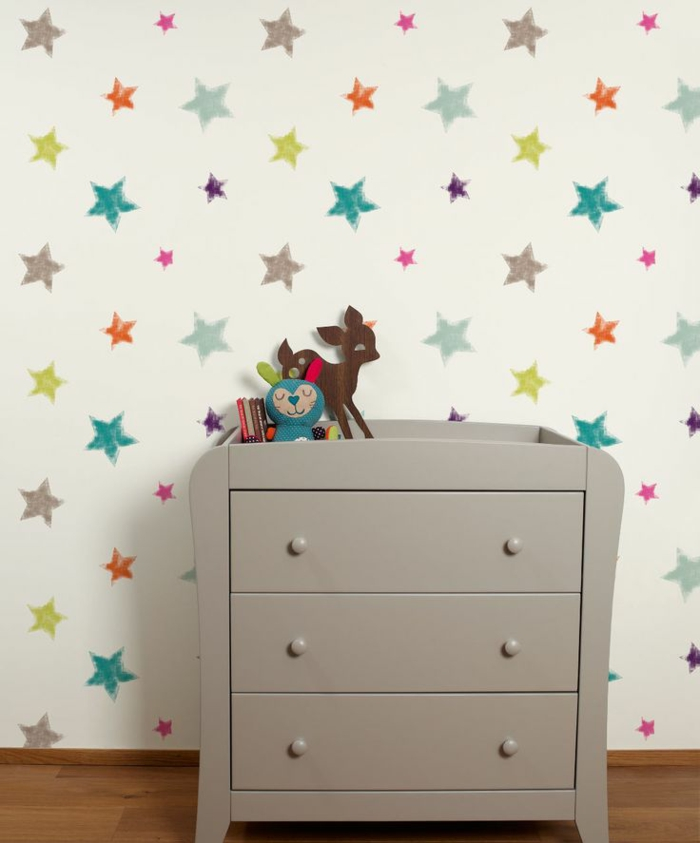tapete kinderzimmer gro und klein verliebt sich in solche w nde. Black Bedroom Furniture Sets. Home Design Ideas