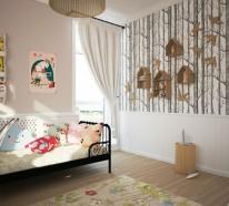 Tapete Kinderzimmer – Groß und Klein verliebt sich in solche Wände…