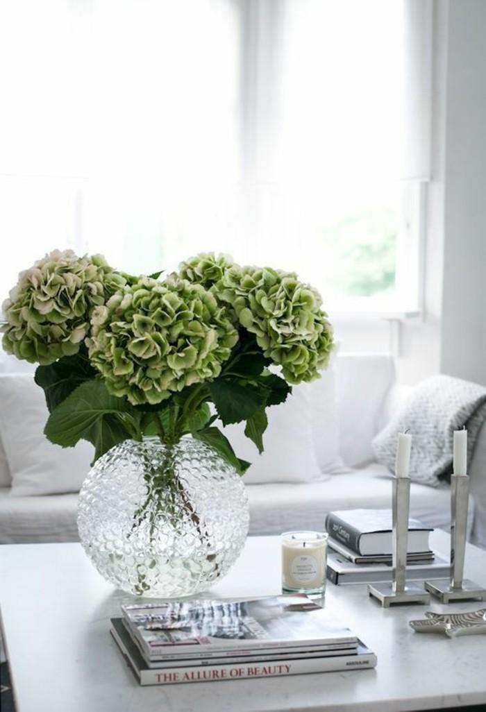 tischdeko frische dekoideen für das wohnzimmer