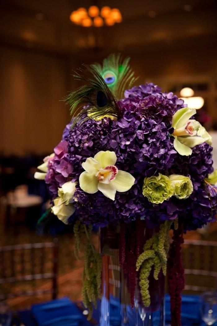 dekoideen tisch orchideen