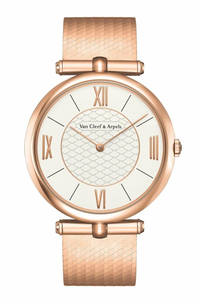uhrenmarken herren luxusbrand gold armbanduhr männer van cleef arpels