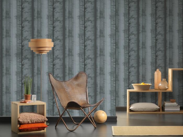 Ausgefallene Wandtapeten : Oder vielleicht sollten Sie einfach den richtigen Raum finden?