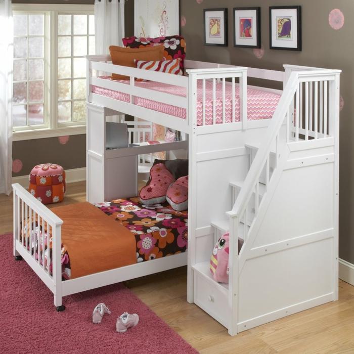 50 Wohnideen Kinderzimmer, wie Sie den Raum optimal ausnutzen