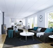 Wohnzimmer Modern Einrichten 59 Beispiele Fur Modernes Innendesign
