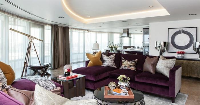Wohnzimmer Modern Kleine Einrichten