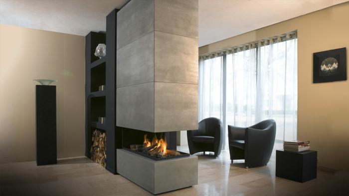 40 wohnzimmer sessel mit coolem look die sich im raum for Wohnzimmer ledersessel