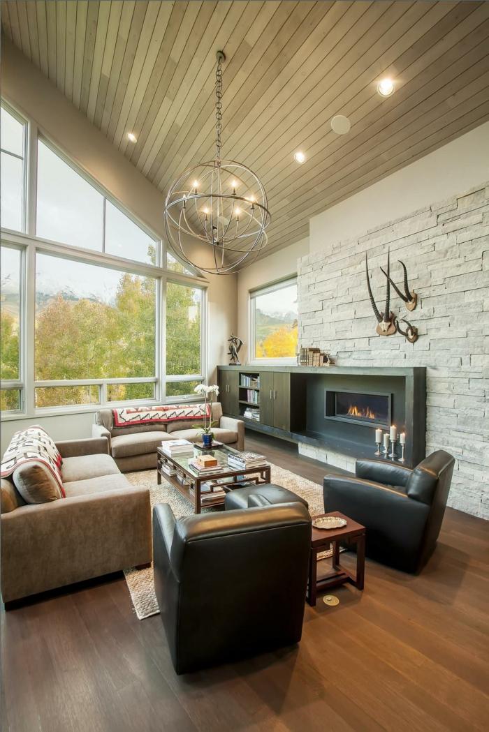wanddeko wohnzimmer landhausstil – vegdis, Wohnideen design