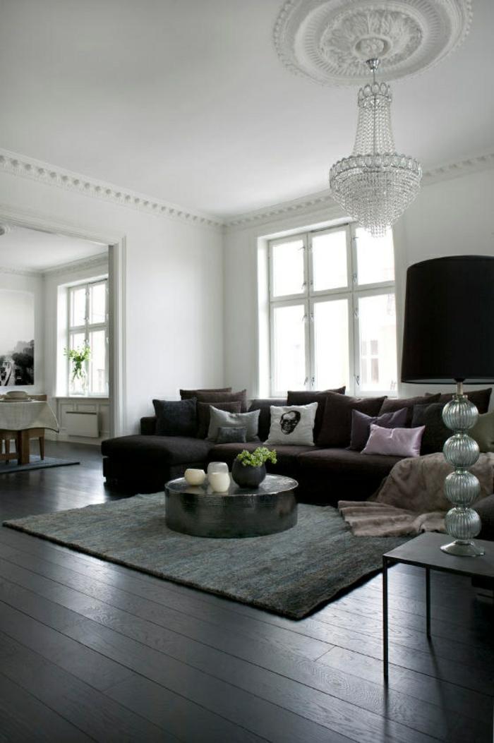 wohnzimmer ideen heller boden. Black Bedroom Furniture Sets. Home Design Ideas