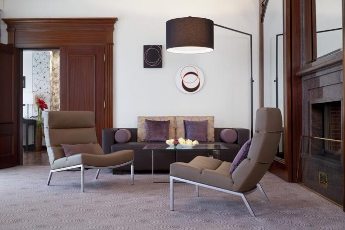 Wohnzimmer gemütlich ideenwohnzimmereinrichtung ideen kleines