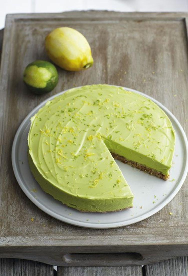 Avocado Rezepte Nachspeisen Kuchen mit Avocado gesund