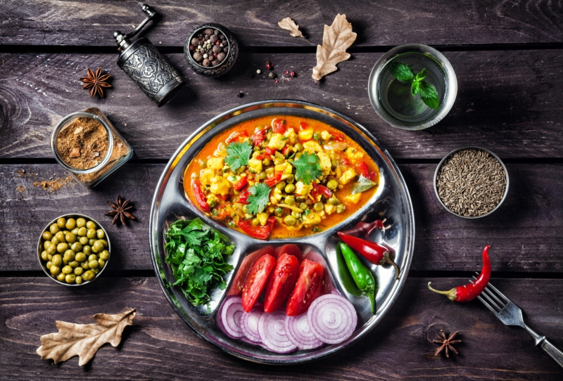 Ayurveda Ernährung ayurvedische Gerichte indische Küche