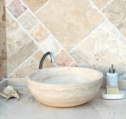 Travertin Fliesen travertin fliesen im badezimmer gestaltungsmöglichkeiten mit