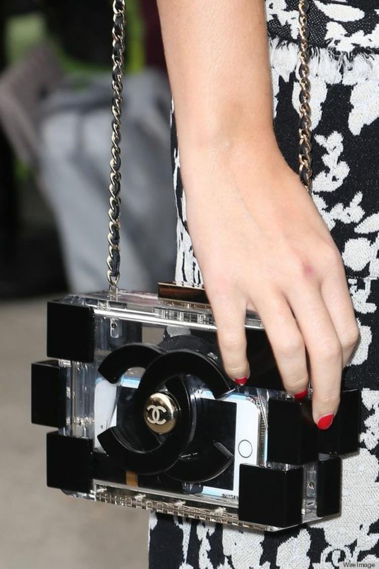 Chanel Handtaschen Designer Taschen Chanel Tasche durchsichtig