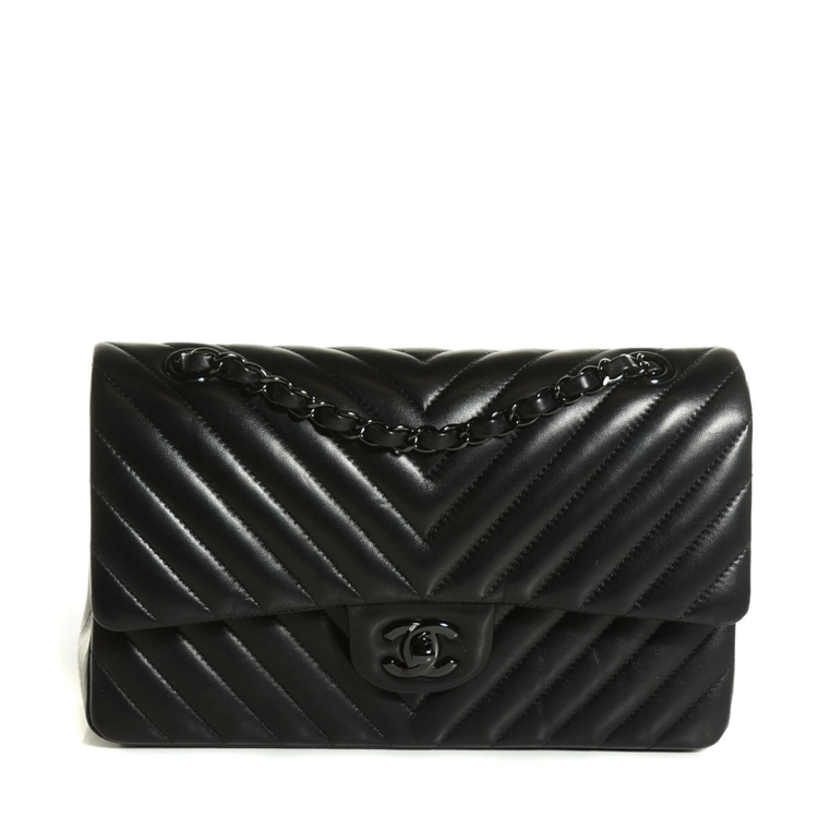 Chanel Taschen Handtaschen 11.12 schwarz