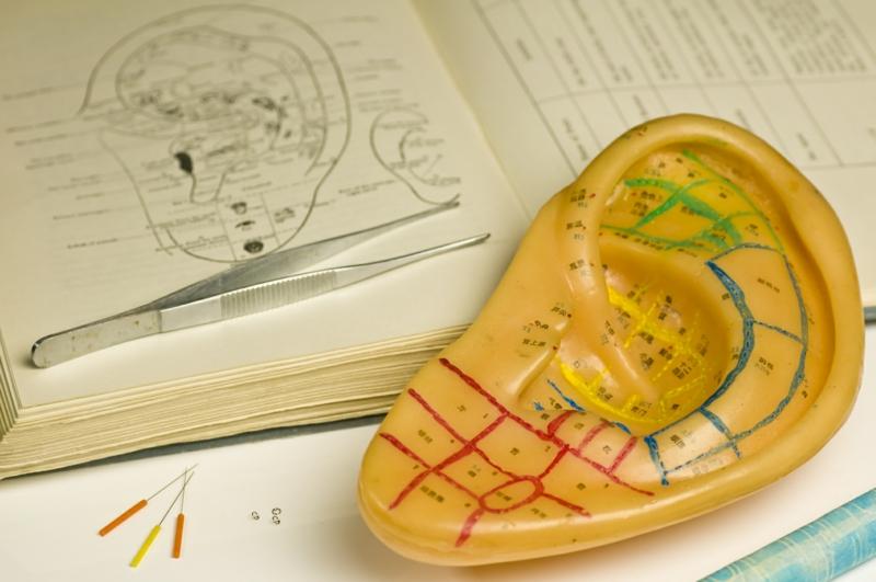 Chinesische Akupunktur Ohr Punkte chinesische Medizin