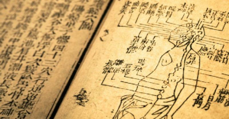 Chinesische Akupunktur alte traditionelle chinesische Medizin