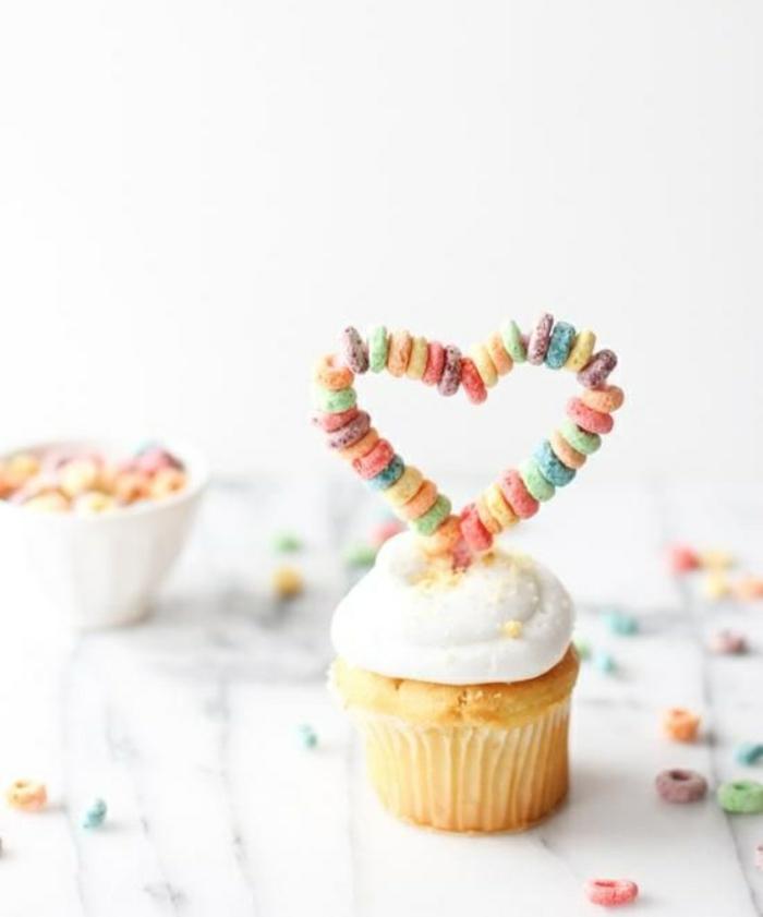 Cupcakes Rezept Törtchen backen einfache Rezeptideen