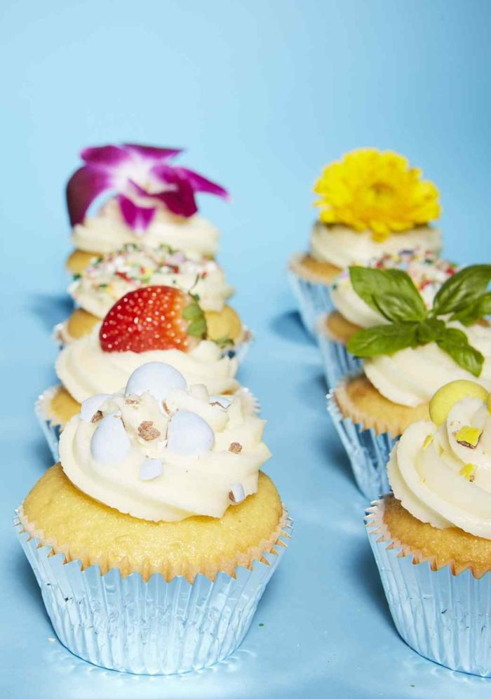 Cupcakes Rezept Vanillentörtchen backen Rezeptideen