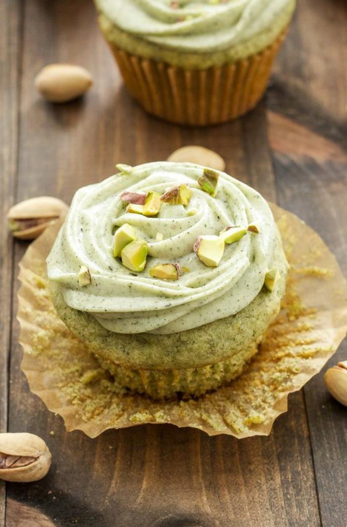 Cupcakes Rezepte Törtchen backen mit Pistazien