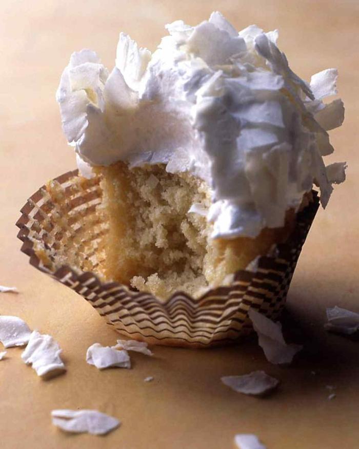Cupcakes Topping Rezept Sahne Törtchen backen Rezeptideen